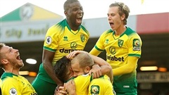 Norwich quật ngã Man City 3-2