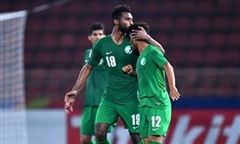 Clip trận Syria thua Saudi Arabia 0-1, hai đội vào tứ kết