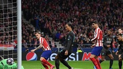Atletico Madrid tử thủ, Liverpool gặp khó tại Champions League