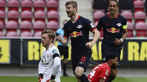 Timo Werner lập hat-trick, Liverpool 'bỏng mắt' với sao RB Leipzig