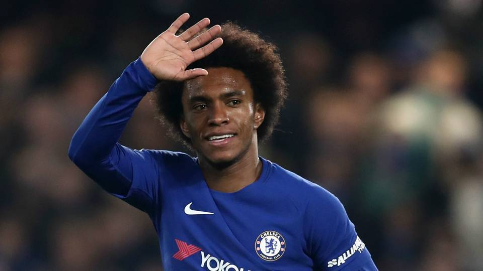 Real Madrid thẳng thừng từ chối Willian