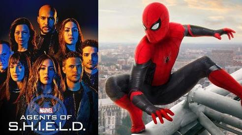 After credit của Spider-Man: Far From Home trùng hợp với một tập của 'Agents of SHIELD'